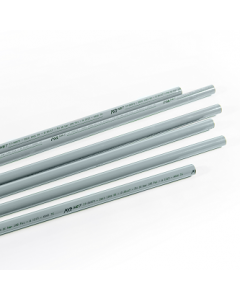 Aluminium pipe for vacuum D20