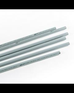 Aluminium pipe for vacuum D25