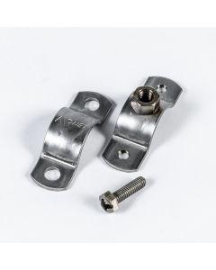 """Pipe Clip 304L D89 (3 1/2"""") 3/8"""" UNC 20PCS"""
