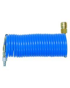 Spiral Hose PUR-Rp3/8-8bar 10-6,5/7,5m